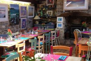 Mowhay Cafe, family friendly restaurant in north Cornwall.