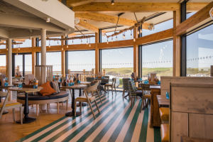 The Oystercatcher dog-friendly restaurant in Polzeath