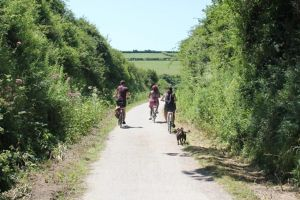 A family cycle in Cornwall with bikes from Padstow Cycle Hire.