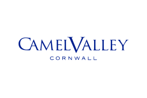 The logo for Camel Valley.