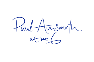 The logo for Paul Ainsworth at No 6.