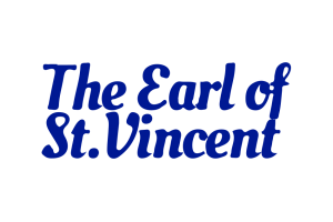 The logo for The Earl of St Vincent.