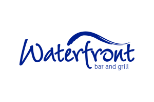 The logo for Waterfront.
